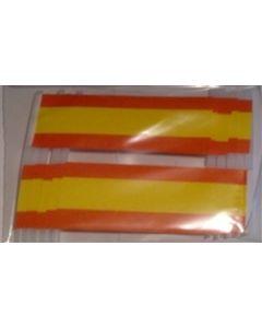 Spanien Kageflag (30x48mm)
