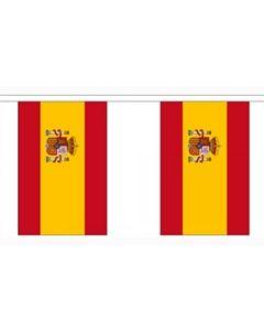 Spanien Stat Guirlander 3m (10 flag)