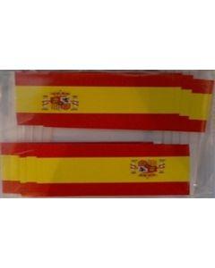 Spanien Stat Kageflag (30x48mm)