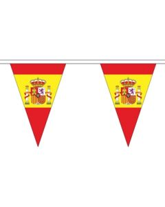 Spanien Stat Triangle Guirlander 5m (12 flag)