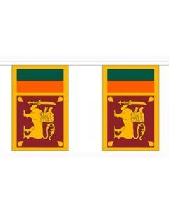 Sri Lanka Guirlander 9m (30 flag)