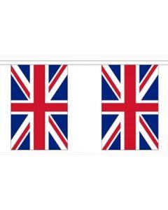 Storbritannien Guirlander 9m (30 flag)