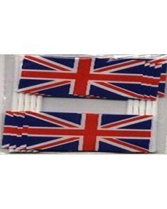 Storbritannien Kageflag (30x48mm)