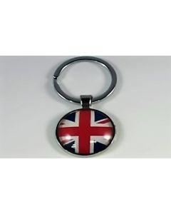 Storbritannien Nøglering (25x60mm)