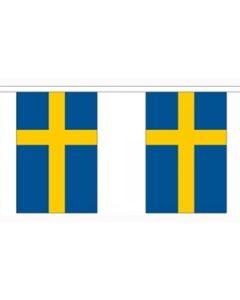 Sverige Guirlander 3m (10 flag)