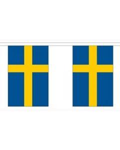 Sverige Guirlander 9m (30 flag)