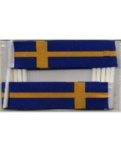 Sverige Kageflag (30x48mm)