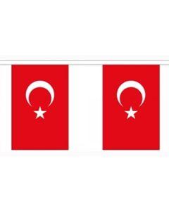 Tyrkiet Guirlander 3m (10 flag)