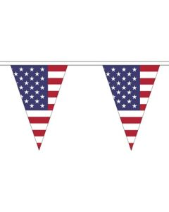 USA Triangle Guirlander 5m (12 flag)