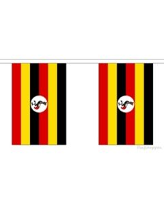 Uganda Guirlander 3m (10 flag)