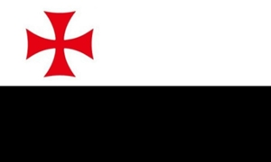 Image of   Knights Templar Flag (90x150cm)