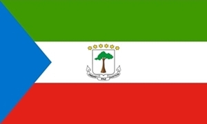 Image of   Ækvatorialguinea Flag (90x150cm)