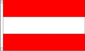 Image of   Østrig Flag (90x150cm)
