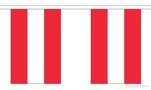 Image of   Østrig Guirlander 3m (10 flag)