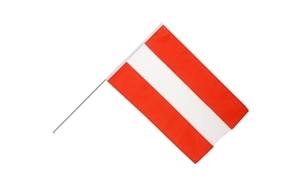 Image of   Østrig Håndholdt Papirflag (20x27cm)